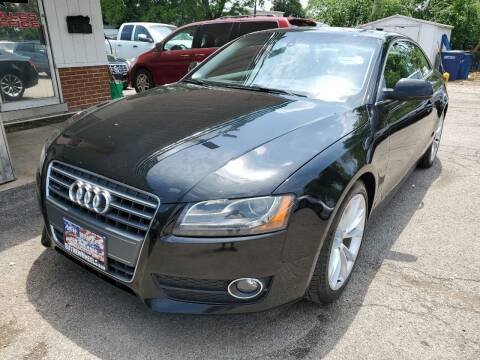 2012 Audi A5 for sale at New Wheels in Glendale Heights IL