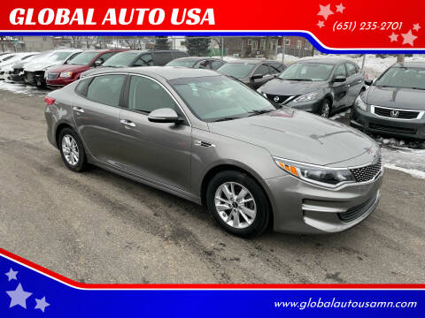 2018 Kia Optima for sale at GLOBAL AUTO USA in Saint Paul MN
