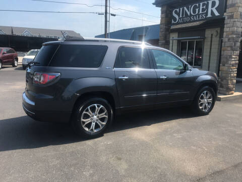 2014 GMC Acadia for sale at Singer Auto Sales in Caldwell OH