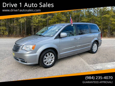 2015 Chrysler Town and Country for sale at Drive 1 Auto Sales in Wake Forest NC
