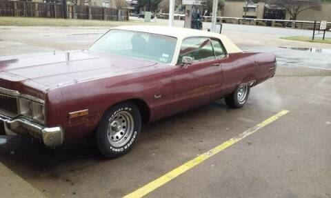 1973 Chrysler Newport for sale at Classic Car Deals in Cadillac MI
