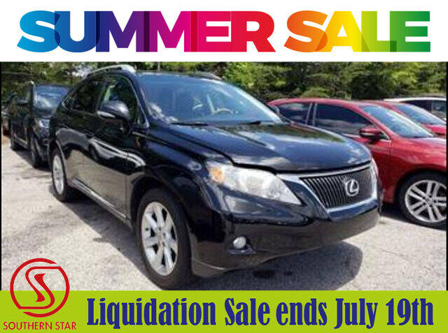 2010 Lexus RX 350 for sale at Southern Star Automotive, Inc. in Duluth GA