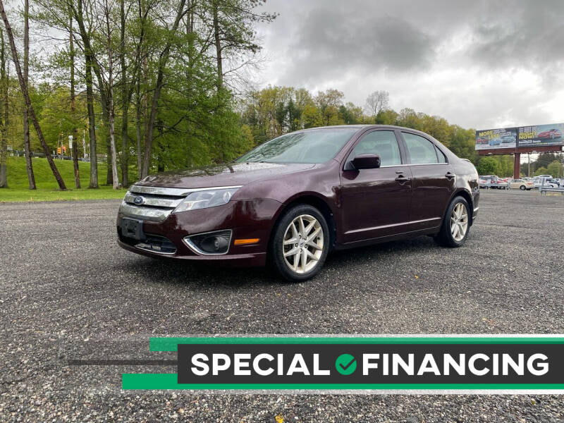 2012 Ford Fusion for sale at QUALITY AUTOS in Newfoundland NJ