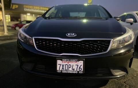 2017 Kia Forte for sale at Global Auto Group in Fontana CA