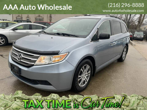 2011 Honda Odyssey for sale at AAA Auto Wholesale in Parma OH