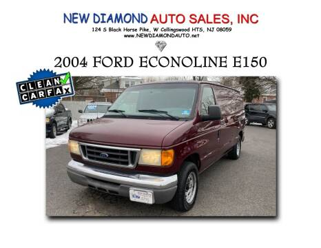 2004 Ford E-Series Cargo for sale at New Diamond Auto Sales, INC in West Collingswood NJ
