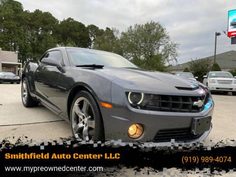 2011 Chevrolet Camaro for sale at Smithfield Auto Center LLC in Smithfield NC