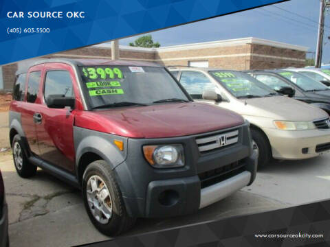 2007 Honda Element for sale at Car One - CAR SOURCE OKC in Oklahoma City OK