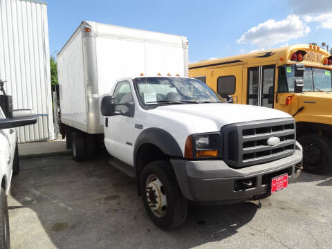 2005 Ford F-550 Super Duty for sale at John's Auto Sales in Council Bluffs IA