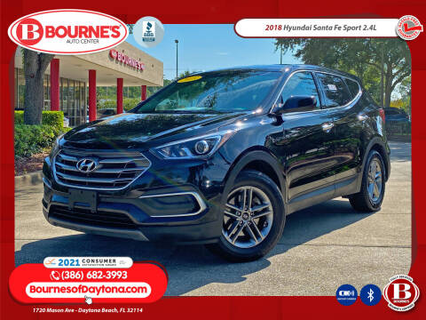 2018 Hyundai Santa Fe Sport for sale at Bourne's Auto Center in Daytona Beach FL