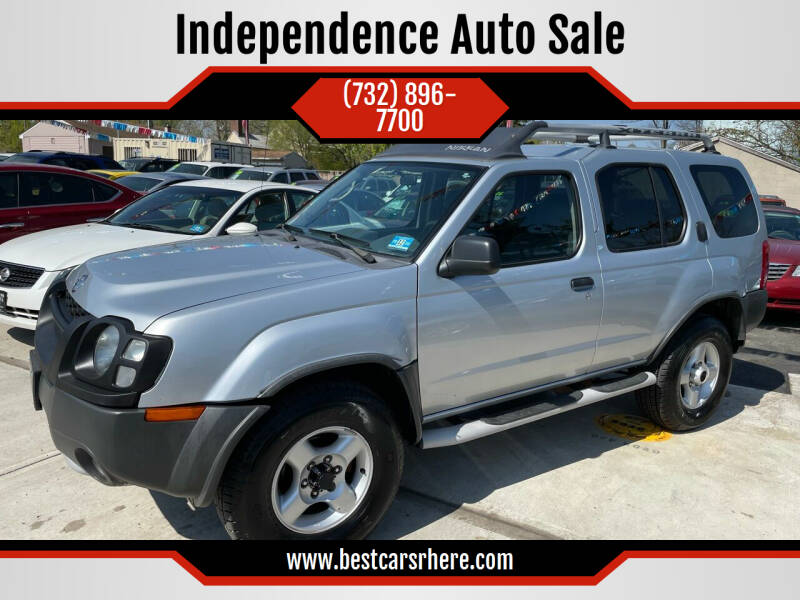 2002 Nissan Xterra for sale at Independence Auto Sale in Bordentown NJ
