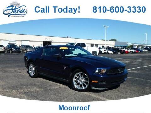 2010 Ford Mustang for sale at Erick's Used Car Factory in Flint MI