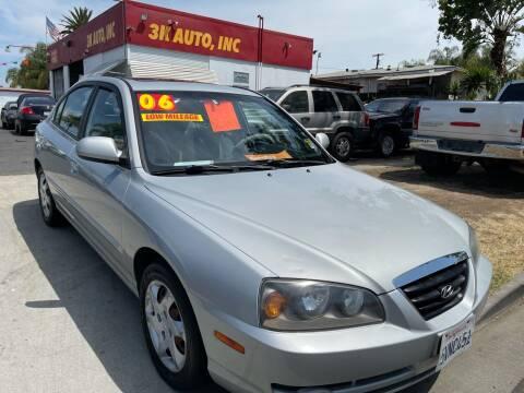 2006 Hyundai Elantra for sale at 3K Auto in Escondido CA