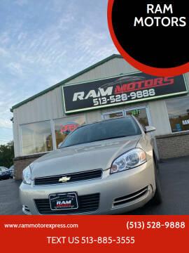 2009 Chevrolet Impala for sale at RAM MOTORS in Cincinnati OH