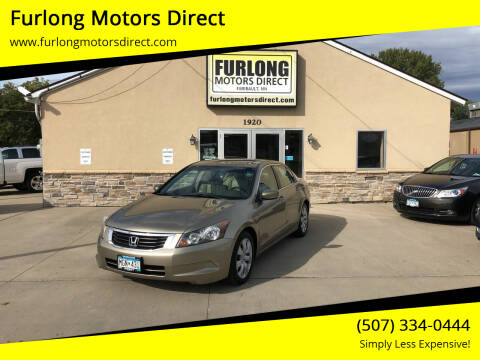 2009 Honda Accord for sale at Furlong Motors Direct in Faribault MN