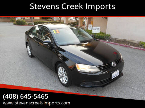2012 Volkswagen Jetta for sale at Stevens Creek Imports in San Jose CA