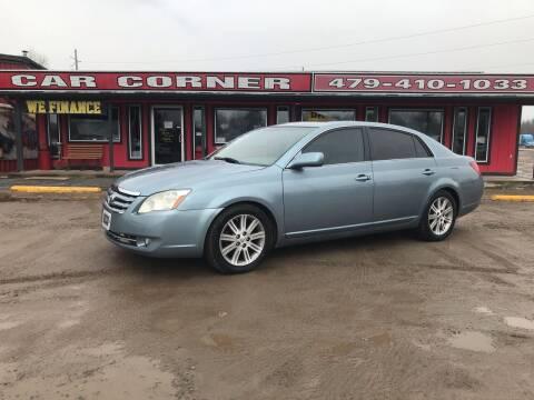 2007 Toyota Avalon for sale at CAR CORNER in Van Buren AR