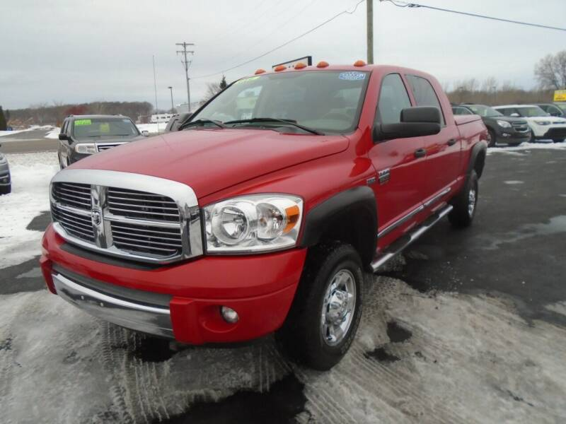 2008 Dodge Ram Pickup 2500 for sale at JACK'S AUTO SALES in Traverse City MI