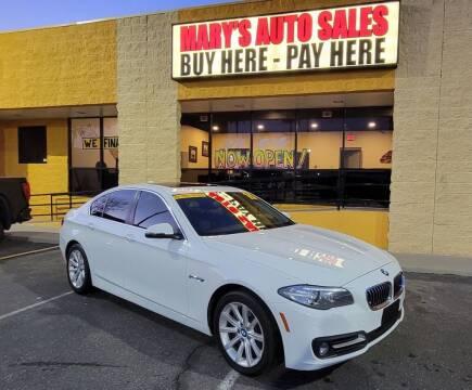 2015 BMW 5 Series for sale at Marys Auto Sales in Phoenix AZ