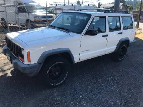 2000 Jeep Cherokee for sale at Chuck Wise Motors in Portland OR