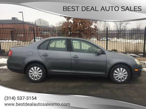 2006 Volkswagen Jetta for sale at Best Deal Auto Sales in Saint Charles MO