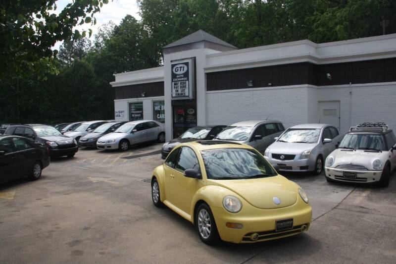 2004 Volkswagen New Beetle for sale at GTI Auto Exchange in Durham NC