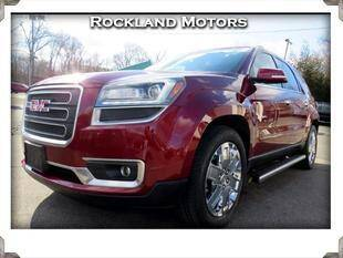 2017 GMC Acadia Limited for sale at Rockland Automall - Rockland Motors in West Nyack NY