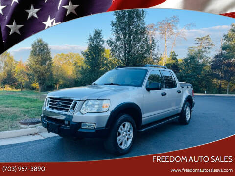2008 Ford Explorer Sport Trac for sale at Freedom Auto Sales in Chantilly VA