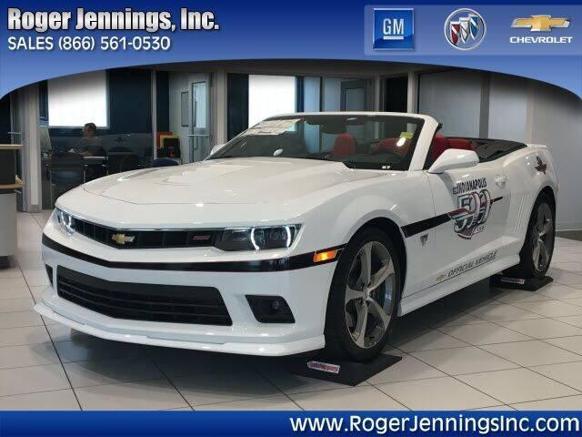 2015 Chevrolet Camaro for sale at ROGER JENNINGS INC in Hillsboro IL