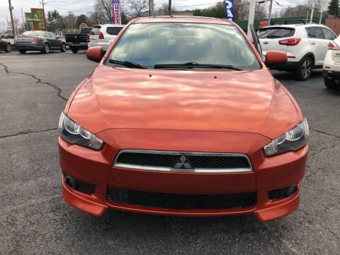 2011 Mitsubishi Lancer for sale at M & J Auto Sales in Attleboro MA