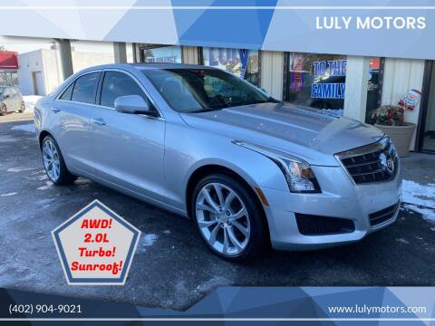 2013 Cadillac ATS for sale at Luly Motors in Lincoln NE