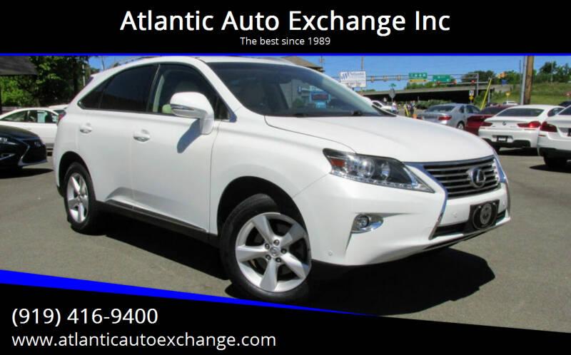 2015 Lexus RX 350 for sale at Atlantic Auto Exchange Inc in Durham NC