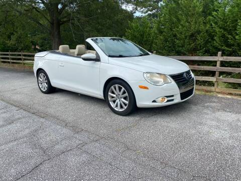 2010 Volkswagen Eos for sale at Front Porch Motors Inc. in Conyers GA