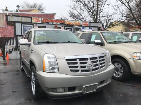 2008 Cadillac Escalade for sale at Chambers Auto Sales LLC in Trenton NJ