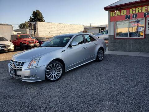2013 Cadillac CTS for sale at Yaktown Motors in Union Gap WA