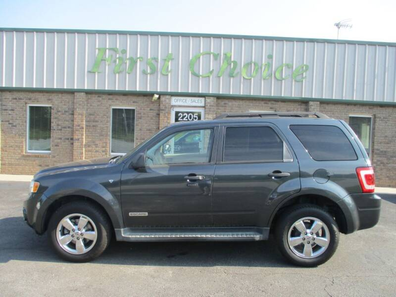 2008 Ford Escape for sale at First Choice Auto in Greenville SC