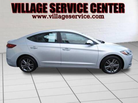 2017 Hyundai Elantra for sale at VILLAGE SERVICE CENTER in Penns Creek PA
