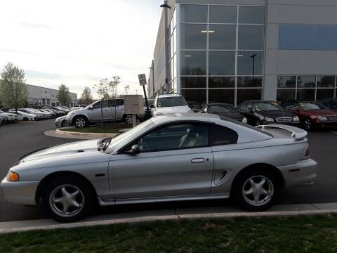 1998 Ford Mustang for sale at M & M Auto Brokers in Chantilly VA