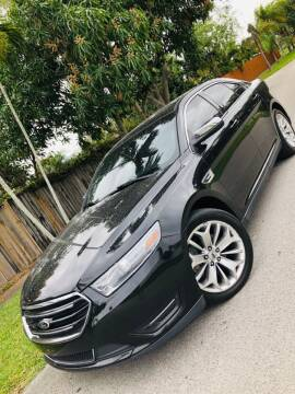 2013 Ford Taurus for sale at IRON CARS in Hollywood FL