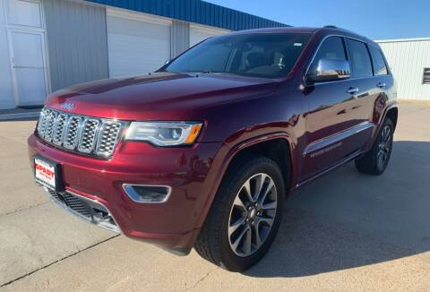 2017 Jeep Grand Cherokee for sale at Spady Used Cars in Holdrege NE