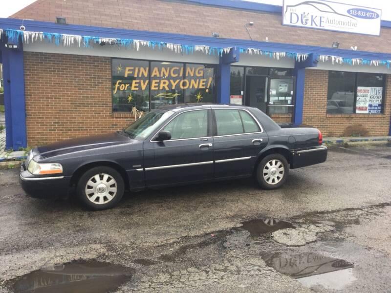 2003 Mercury Grand Marquis for sale at Duke Automotive Group in Cincinnati OH
