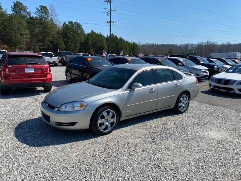 2008 Chevrolet Impala for sale at Billy Ballew Motorsports in Dawsonville GA