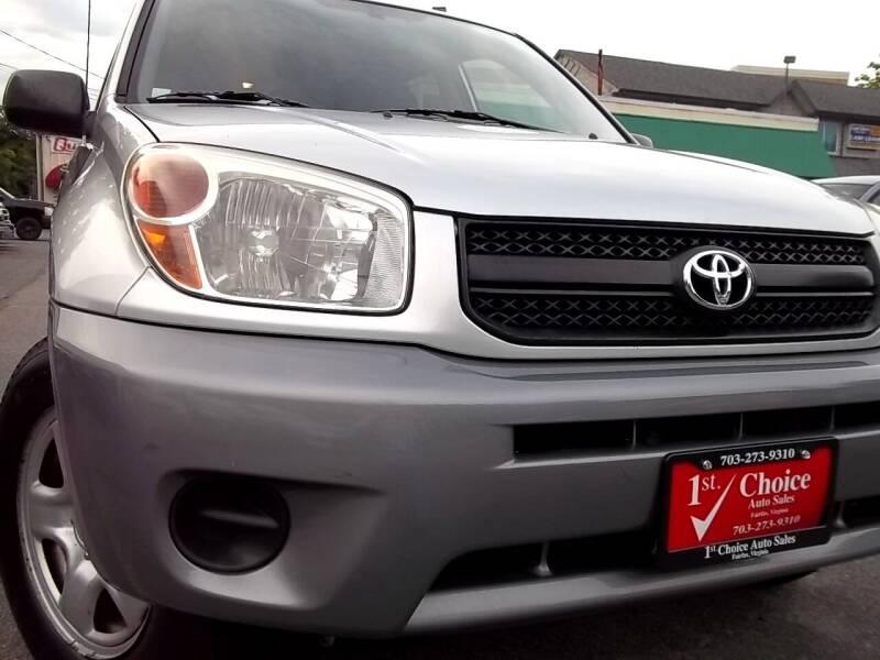 2005 Toyota RAV4 for sale at 1st Choice Auto Sales in Fairfax VA