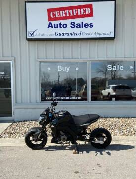 2018 Kawasaki BR 125 for sale at Certified Auto Sales in Des Moines IA