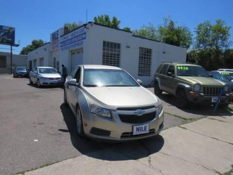 2013 Chevrolet Cruze for sale at Nile Auto Sales in Denver CO