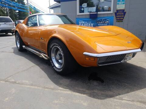 1971 Chevrolet Corvette for sale at Fleetwing Auto Sales in Erie PA