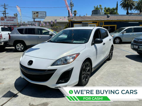 2011 Mazda MAZDA3 for sale at FJ Auto Sales North Hollywood in North Hollywood CA