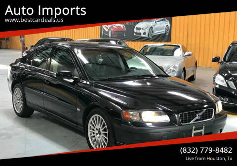 2004 Volvo S60 for sale at Auto Imports in Houston TX