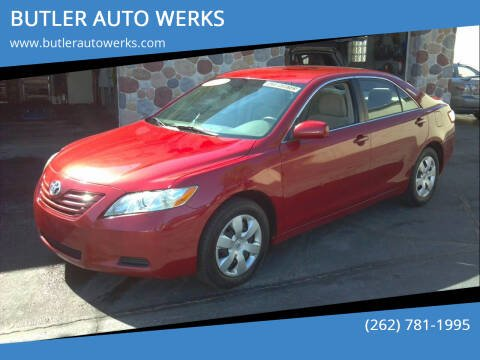 2009 Toyota Camry for sale at BUTLER AUTO WERKS in Butler WI