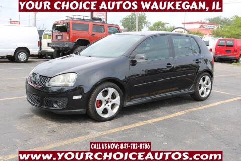 2008 Volkswagen GTI for sale at Your Choice Autos - Waukegan in Waukegan IL